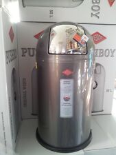 Wesco Pushboy 50L Mülleimer Graphit Abfallsammler  Neu -Vom Händler