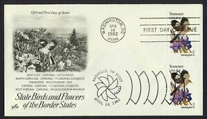 #1994 20c Tennessee, Art Craft-Dual Cancel FDC ANY 4=
