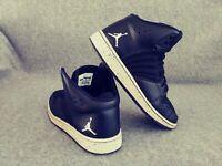 Air Jordan 1 Flight 4 Premium GS Youth Boys Basketball Shoes Black Oreo Sz 7Y