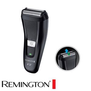 Mens Dual Shaver Cordless Electric Rechargeable Pop-up Trimmer Razor Shaving Kit