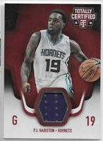 2015-16 Totally Certified PJ Hairston Red Parallel Jersey Relic /199 No. TCM-PJ