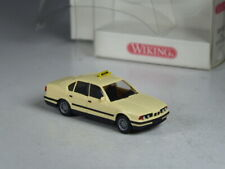 TOP: Wiking BMW 520i Limousine Taxi beige in OVP