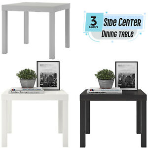 Side Table End Display 55cm Square Small Coffee Table Office Bedroom LACK UK