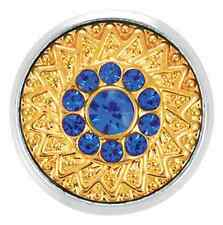 Buy 4, Get 5Th $6.95 Snap Free Ginger Snaps™ Gold Rush-Sapphire Jewelry