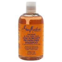 Shea Moisture Baobab & Tea Tree Oils Low Porosity Protein-Free Shampoo 383.5 ml
