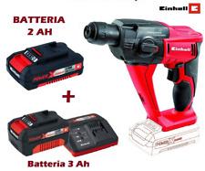 Martello Tassellatore a Batteria INCLUSA 3 AH + OMAGGIO 2 AH TE-HD 18 LI Einhell