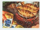 Pabst Blue Ribbon Beer - Metal Beer Sign - Fish Fry - What'll You Have - PBR
