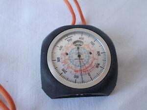 Thommen Swiss Altimeter 16404 2/12ft Analog