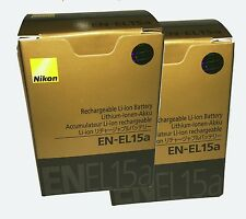 Nikon ENEL15a twin pack Genuine Battery with NIKON AUSTRALIA WARRANTY