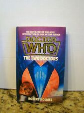Doctor Who: The Two Doctors Robert Holmes 100th Dr Who Novel Signed