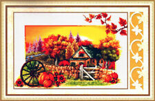 Diy Printed Cross Stitch Kits Embroidery Kits Country House