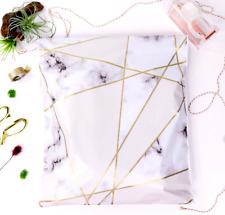 Designer Poly Mailers Envelopes Shipping Bags Packaging Marble Various Sizes