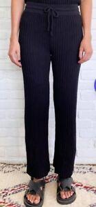 Rue Stiic Shae Cotton knit Black Pant Large