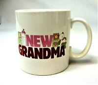 """Grandma"" Russ Berrie Coffee Mug Cup Great way to announce a birth! Grandmother"