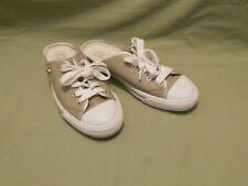 Cole Haan Gold Slide On Mule Tennis Shoe 6B
