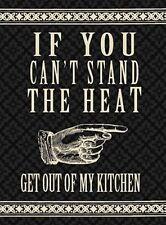 CANT SUPPORTO The CALORE cibo cucina per SHABBY CHIC DIVERTENTE CALAMITA FRIGO