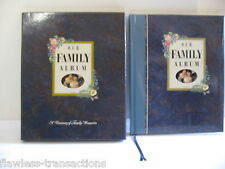 OUR FAMILY ALBUM A TREASURY OF FAMILY MEMORIES Hardback Scrapbook 92 pages NIB
