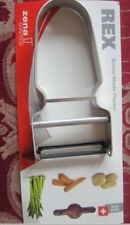 Zena Swiss Rex Quality Peeler Great for Potatoes, Apples, Squash and More 001114