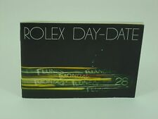 Genuine Rolex booklet vintage Day-Date instruction 1981 USA version