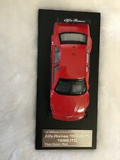 hpi-racing 8026 1/43 Alfa Romeo 155 V6 TI ITC (Plain Color Model: Red)