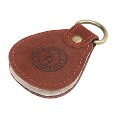 Tourbon Fly Fishing Dryer Patch Line Cleaner Dry Flies Holder Case Brown Leather