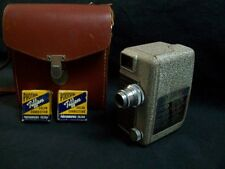 Vintage Revere 8 Model B-61 8mm Movie Camera w/ 2 filters & Neolite Case