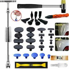 Car Body Dent Repair Tool Set Professional Hammer Dolly Kit Garage Workshop DIY