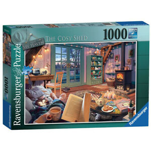 Ravensburger My Haven No.6 The Cosy Shed 1000 Piece Jigsaw Puzzle - 15175