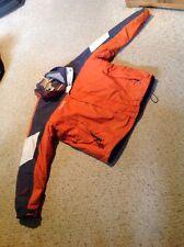 Mens XL 3 In 1 Columbia Jacket.  Core Jacket.  Orange, Gray & Tan.  Slight Use.