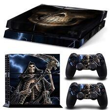 PS4 Skin & Controller Vinyl Sticker PlayStation 4 Grim Reaper High Quality