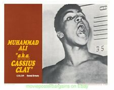 AKA CASSIUS CLAY MUHAMMED ALI 11x14 Inch Lobby Card Set of 8 Movie Poster 1970