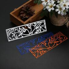 Flower Frame Cutting Dies Stencil for Scrapbooking Paper Cards Craft Embossing
