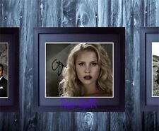 Claire Holt The Originals SIGNED AUTOGRAPHED & FRAMED 10x8 REPRO PHOTO PRINT