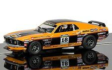 Scalextric C3671 Ford Mustang Boss 302 1969 Masters Championship 1/32 Slot Car