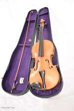 Schöne antike Geige Violine im Holzkoffer / Beautiful Antique Violin Wooden Case