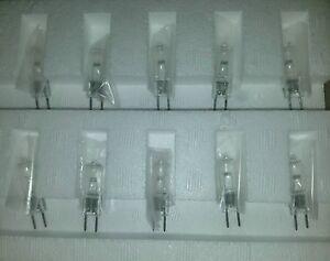 10 pcs Genuine Osram Xenophot HLX 64625 100W 12V GY6.35 FCR Bi-Pin Light Bulb