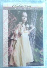 'Chakita Dress' Tina Givens Sewing Pattern - Girls S/M/L 2 - 7 Yr Olds Nip