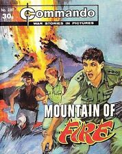 Commando For Action & Adventure Comic Book Magazine #2287 MOUNTAIN OF FIRE