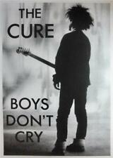 THE CURE ANGULARLY RARE MID 80'S IMPORT BOYS DON'T CRY CD / LP COVER ART POSTER