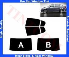 Pre Cut Window Tint Opel Astra H 4D 2007-2010 Rear Window & Rear Sides Any Shade