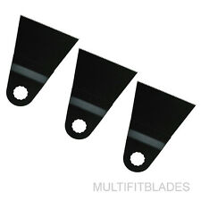 """3 x 2-5/8"""" Fine Tooth Oscillating Tool Blades - Rockwell Sonicrafter Original"""