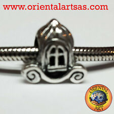 charms carrozza in argento 925