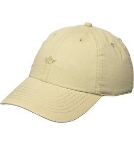 Dockers Men's Core Tonal Embroidered Logo Dad Baseball Hat, Khaki, One Size
