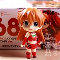 NEW #468 Evangelion EVA Asuka Langley Q version Action PVC Figure Anime Toy