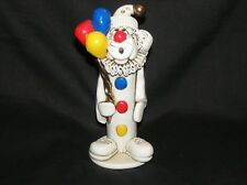 Tweeples 14 Karat Whistle Ceramic Clown Handcrafted Joe Peck 1997 Sculpture