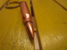 Schlüsselanhänger Munition Leder Patrone Ladung  Metall Anhänger Charm