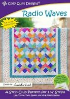 Radio Waves Quilt Pattern - Cozy Quilt Designs