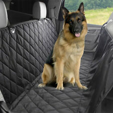 US Waterproof SUV Car Van Pet Dog Cat Back Rear Seat Bench Mat Cover 600D Oxford