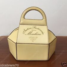 vintage MOSCHINO BAGS cream leather pastry purse ANTICA PASTICCERIA MILANO