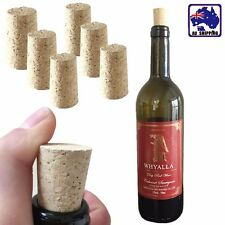 30x Home Brew Tapered Wood Cork Bung Wine Bottle Stopper 18x35mm HWIB51600x30